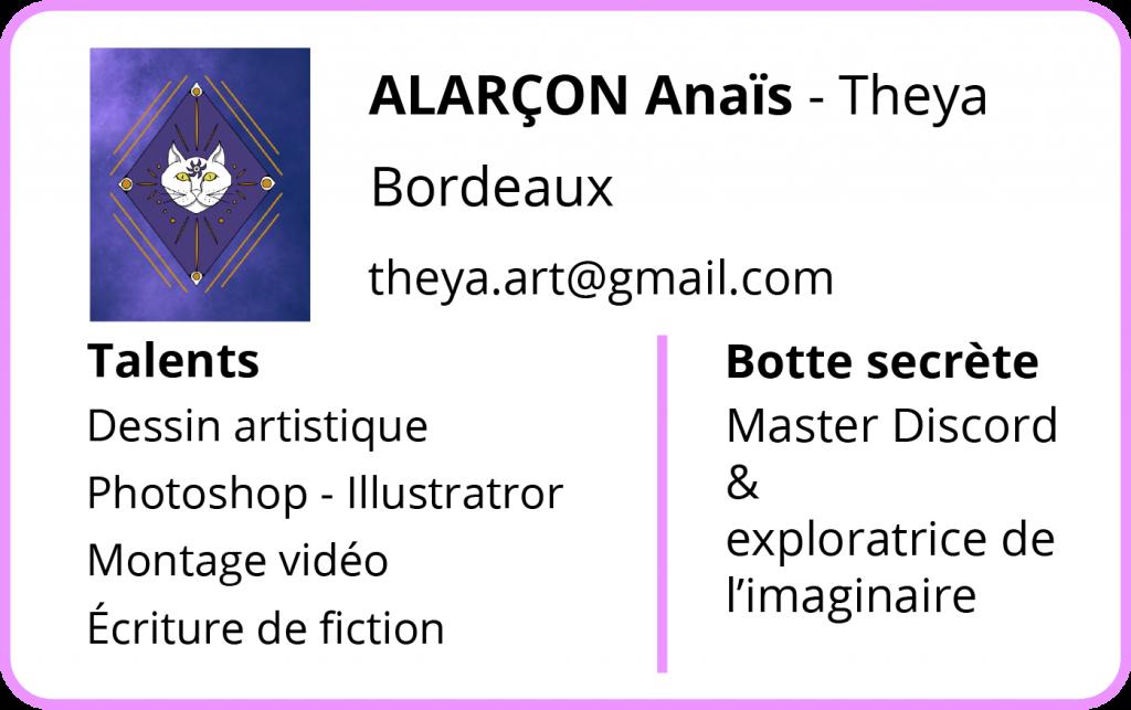 Contact Anais